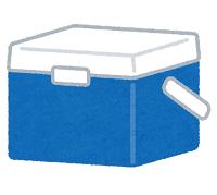 クーラーボックスのイラスト